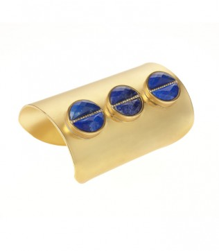 Paige Novick Lapis Cuff available at Bergdorfgoodman.com