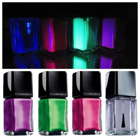 Bottom Pic left to right; Nail Varnish Colors Seance,Omen, Ouija, Geist