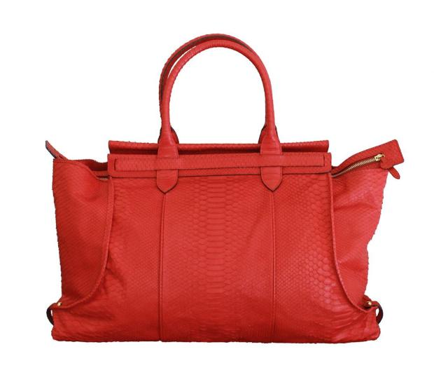Chiqui Tote Red Python