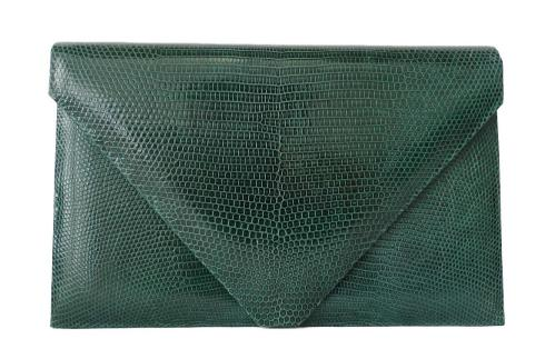 Small Emerald Lizard Envelope